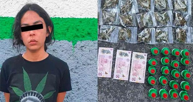 Detienen a tres por vender mariguana con dulces de tamarindo en CDMX