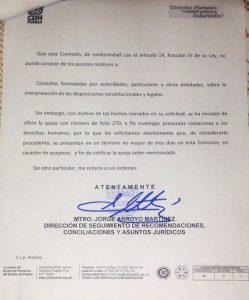 "Exigen a CDH impugnar cobro ""inconstitucional"" por corregir acta de nacimiento"