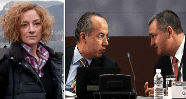 """Cassez busca que Calderón y García Luna """"rindan cuentas"""" por montaje"""