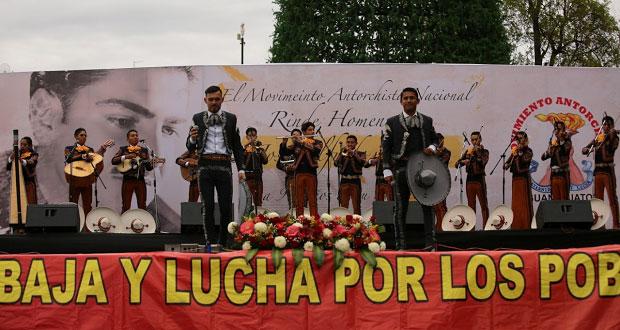Homenajean a José Alfredo Jiménez a 94 años de su natalicio