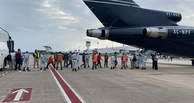 Gobierno federal ayuda a 110 a retornar a Honduras
