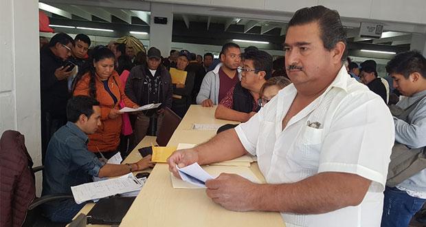 Inicia SMT con entrega de subsidio para transportistas