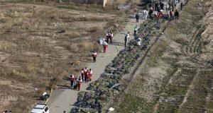 También en Irán, avión de Ucrania se estrella y deja 176 muertos