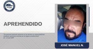 Cae en Yucatán el líder tianguista de San Martín, José Manuel Valencia