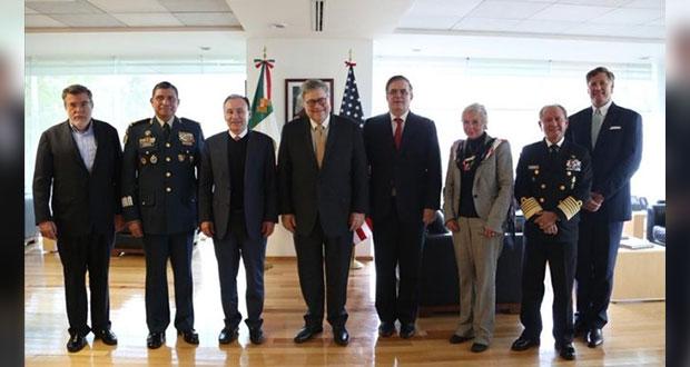 México y fiscal de EU acuerdan programa contra tráfico de armas