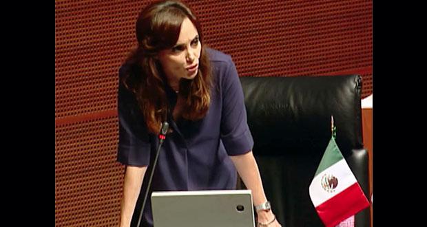 Lilly Téllez se queda en bancada de Morena en Senado, resuelve Tepjf