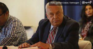 Riveroll, a quien BUAP dio honorarios de 2.3 mdp, deja Contraloría municipal