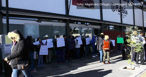 "Claudia Rivera se dice respetuosa de vida sindical de las ""naranjitas"""