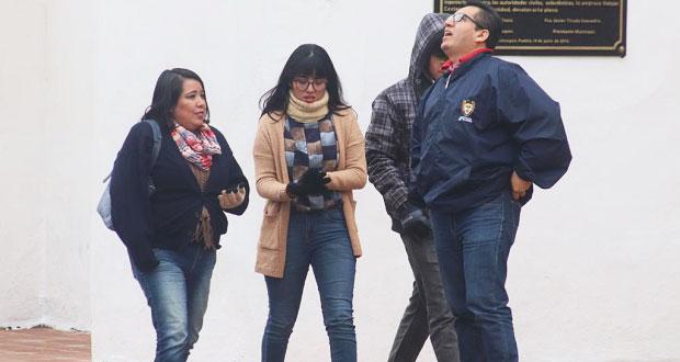 Norte de Puebla, el más afectado por el frío con hasta -3 grados