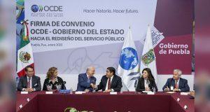 OCDE y Puebla simplifican trámites para combatir corrupción