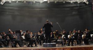 Orquesta da concierto didáctico a niños y jóvenes de Tecomatlán