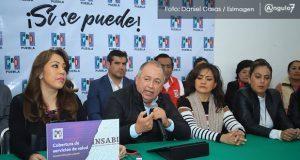 """PRI en Puebla niega ir con """" cartuchos quemados"""" para elección de 2021"""