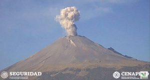 Volcán Popocatépetl mantiene baja actividad: Cenapred