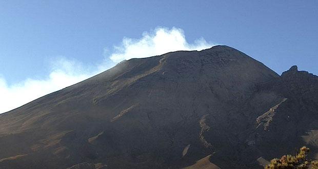 Popocatépetl presenta 154 exhalaciones; sigue en amarillo fase dos