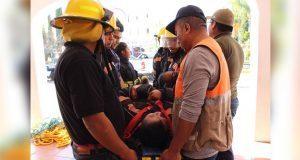 Realiza Protección Civil prácticas de evacuación en Ocoyucan