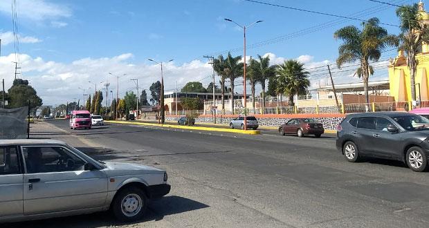 Reabren circulación de carretera México-Puebla: Segob