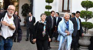 Sánchez Cordero y Sicilia dialogan sobre justicia transicional