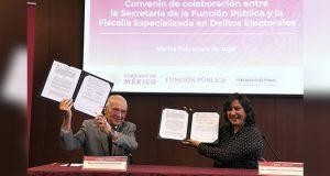 SFP y Fiscalía electoral van contra uso electoral de recurso públicos