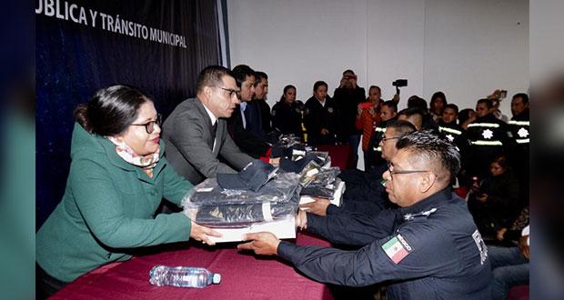 San Andrés invierte 5 mdp en uniformes y chalecos balísticos