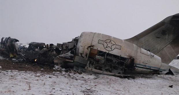 Se estrella avión militar estadounidense en Afganistán