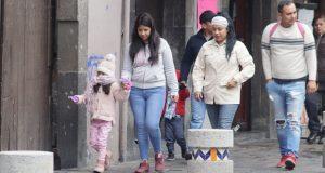 Temperaturas de templadas a frías en Puebla: PC