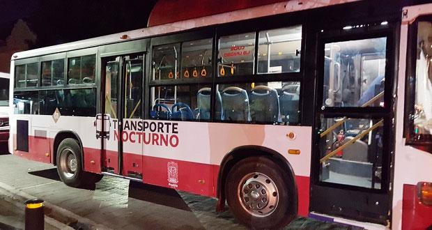 Incorpora gobierno ruta nocturna con destino a central de abasto