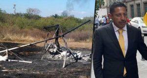 Muere alcalde de Ocuilan, Edomex, por desplome de avioneta donde viajaba