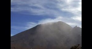 Permanece semáforo volcánico en amarillo fase dos