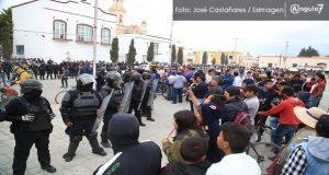 Tras protestas, Segob y pobladores de Amozoc llegan a un acuerdo