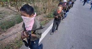 Prepotentes y sin vergüenza, quienes arman a niños en Guerrero: AMLO