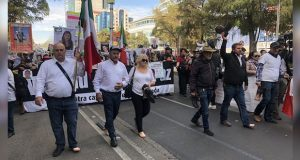 En CDMX, Caminata por Paz exige política de Estado contra violencia