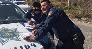 Acusan a comandante de Cuautlancingo de liberar a mujer que atropelló