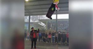 En CBTa de Zacapoaxtla, preservan tradiciones en concurso de piñatas