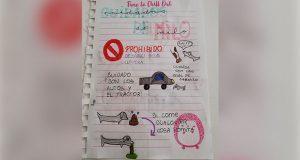 Sobrina le deja a tía encargado a su perro… con todo e instrucciones