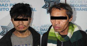 Detienen a dos con presunta droga cerca del mercado Unión