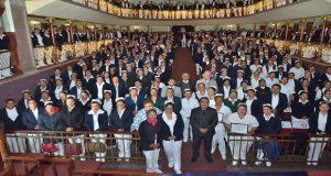 Secretaría de Salud reconoce a enfermeras de Puebla en su día