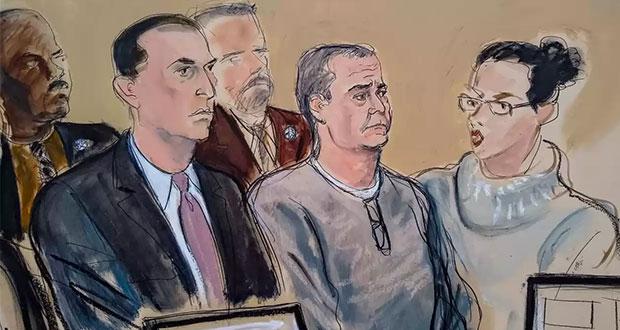 García Luna se declara no culpable ante corte de Nueva York
