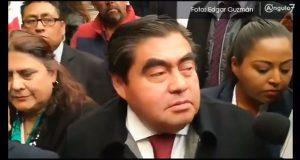 Esparza deja ver sus intenciones con asesorías contra reemplacamiento: Barbosa