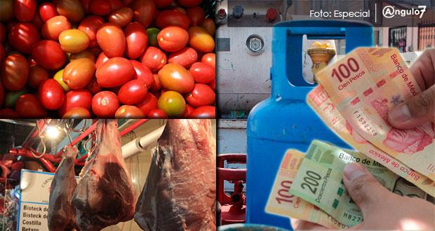 Inflación de Puebla en diciembre de 2019 supera a la nacional