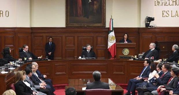 Ríos-Farjat asume puesto en SCJN; con ella, son 3 ministras de 11