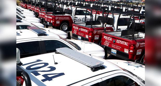 Listas, las mil patrullas que adquirió gobierno de Puebla