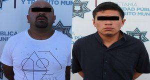 Detiene a dos hombres por narcomenudeo en Puebla capital