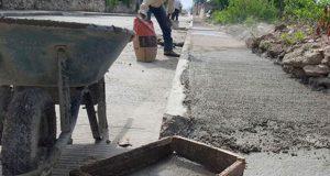Pavimentarán 150 metros de calle en junta auxiliar de Zacatlán