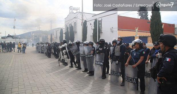 No se permitirán expresiones de violencia como en Amozoc, afirma Barbosa