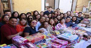 Comuna de San Andrés da juguetes a 25 mil niños por el Día de Reyes