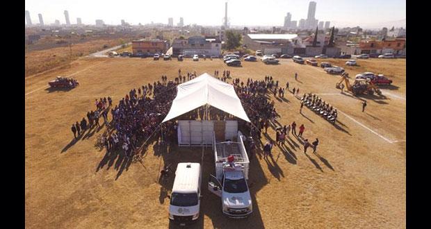Invierte Comuna de San Andrés 5.9 mdp en construcción de secundaria