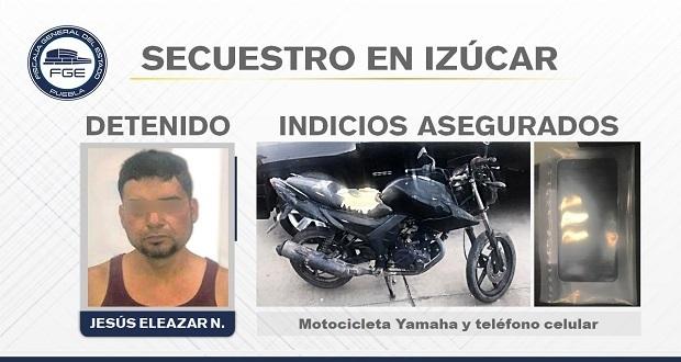 Fisdai detiene a presunto secuestrado en Izúcar