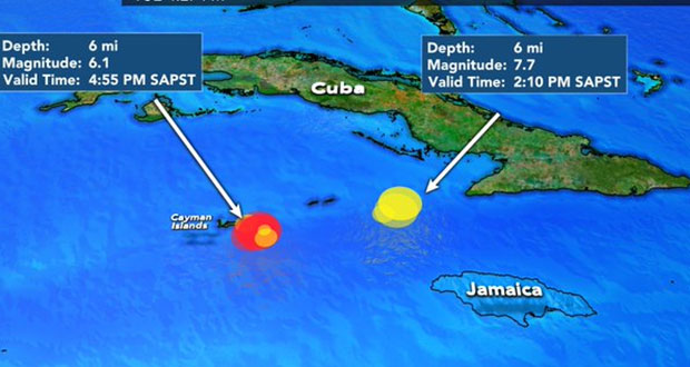 Veracruz y Península de Yucatán perciben sismo en el mar Caribe
