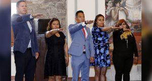Alcaldesa toma protesta a autoridades auxiliares de Ignacio Zaragoza