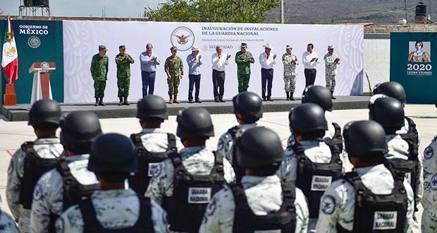 AMLO pide a efectivos de GN jurar lealtad a México e incorruptibles